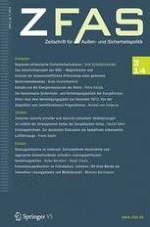Zeitschrift für Außen- und Sicherheitspolitik 3/2014