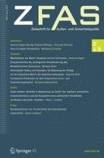 Zeitschrift für Außen- und Sicherheitspolitik 2/2015