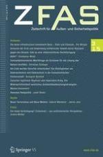 Zeitschrift für Außen- und Sicherheitspolitik 3/2015