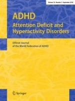 ADHD Attention Deficit and Hyperactivity Disorders 3/2018