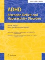 ADHD Attention Deficit and Hyperactivity Disorders 1/2019