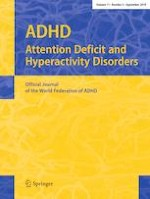 ADHD Attention Deficit and Hyperactivity Disorders 3/2019