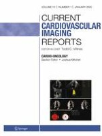 Current Cardiovascular Imaging Reports 1/2020