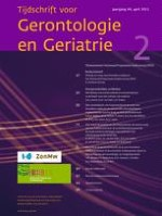 Tijdschrift voor Gerontologie en Geriatrie 2/2013