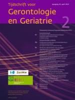 Tijdschrift voor Gerontologie en Geriatrie 2/2014