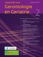 Tijdschrift voor Gerontologie en Geriatrie 2/2015