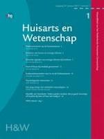 Huisarts en wetenschap 1/2011