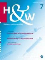 Huisarts en wetenschap 7/2013