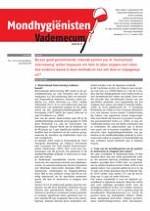 Mondhygienisten vademecum 3/2012
