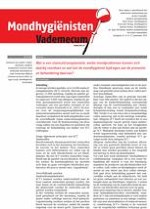 Mondhygienisten vademecum 8/2012
