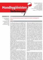 Mondhygienisten vademecum 11/2013