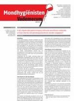 Mondhygienisten vademecum 12/2013