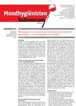 Mondhygienisten vademecum 9/2013