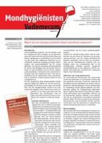 Mondhygienisten vademecum 2/2014