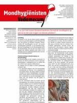 Mondhygienisten vademecum 7/2014