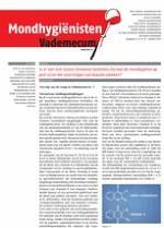 Mondhygienisten vademecum 8/2014