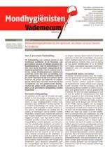 Mondhygienisten vademecum 5/2011