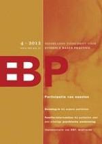 Nederlands Tijdschrift voor Evidence Based Practice 4/2012