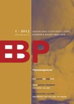 Nederlands Tijdschrift voor Evidence Based Practice 1/2013