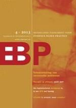 Nederlands Tijdschrift voor Evidence Based Practice 4/2013