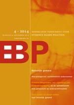 Nederlands Tijdschrift voor Evidence Based Practice 4/2014