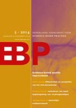 Nederlands Tijdschrift voor Evidence Based Practice 5/2014