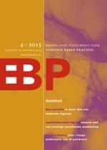 Nederlands Tijdschrift voor Evidence Based Practice 4/2015
