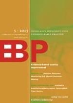 Nederlands Tijdschrift voor Evidence Based Practice 5/2015