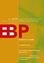 Nederlands Tijdschrift voor Evidence Based Practice 4/2016