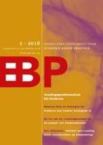 Nederlands Tijdschrift voor Evidence Based Practice 5/2016