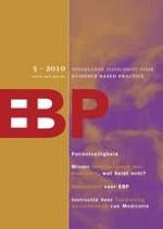 Nederlands Tijdschrift voor Evidence Based Practice 5/2010