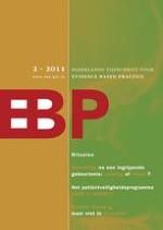 Nederlands Tijdschrift voor Evidence Based Practice 2/2011