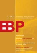 Nederlands Tijdschrift voor Evidence Based Practice 3/2011