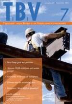 TBV – Tijdschrift voor Bedrijfs- en Verzekeringsgeneeskunde 7/2012