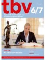 TBV – Tijdschrift voor Bedrijfs- en Verzekeringsgeneeskunde 6-7/2019