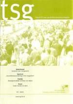 TSG - Tijdschrift voor gezondheidswetenschappen 6/2011
