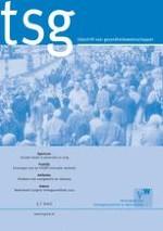 TSG - Tijdschrift voor gezondheidswetenschappen 3/2012