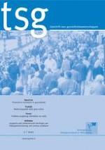 Tijdschrift voor gezondheidswetenschappen 7/2012