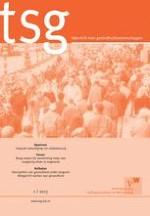 TSG - Tijdschrift voor gezondheidswetenschappen 1/2013