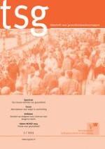 TSG - Tijdschrift voor gezondheidswetenschappen 3/2013
