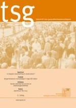TSG - Tijdschrift voor gezondheidswetenschappen 1/2014