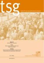 TSG - Tijdschrift voor gezondheidswetenschappen 8/2014