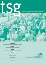TSG - Tijdschrift voor gezondheidswetenschappen 4/2015