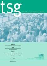 TSG - Tijdschrift voor gezondheidswetenschappen 5/2015