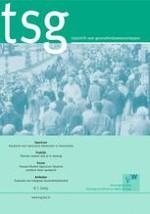 TSG - Tijdschrift voor gezondheidswetenschappen 6/2015