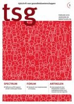 Tijdschrift voor gezondheidswetenschappen 1/2018