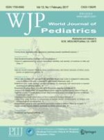 World Journal of Pediatrics 1/2017