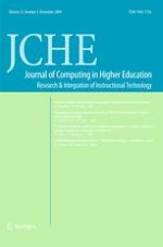 Journal of Computing in Higher Education 3/2009