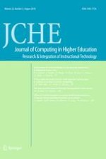 Journal of Computing in Higher Education 2/2010