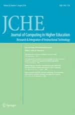 Journal of Computing in Higher Education 2/2014
